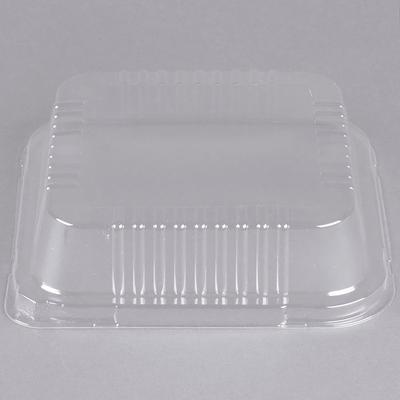 "Durable Packaging P1130-500 Clear Lid for 9"" Square Foil ..."