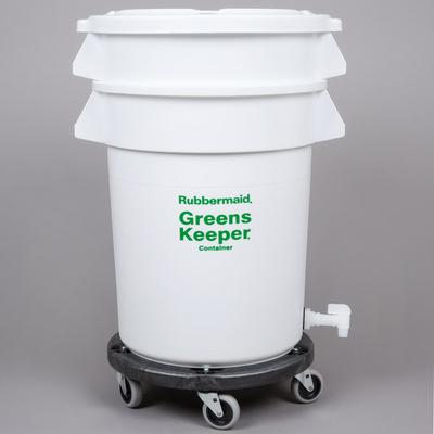 Rubbermaid FG262400WHT Brute GreensKeeper 20 Gallon Veget...