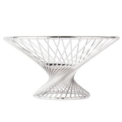 "American Metalcraft FR8 8"" Stainless Steel Whirly Basket"