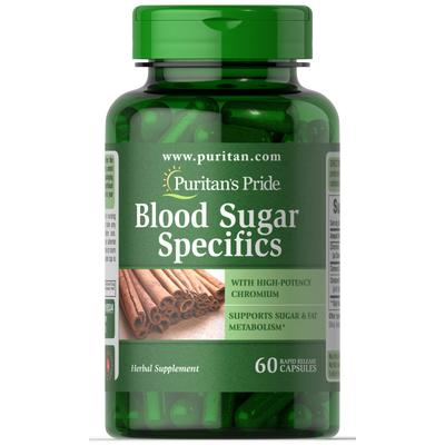 Nature Smart Blood Sugar Specifics with Cinnamon & Chromium-60 Capsules