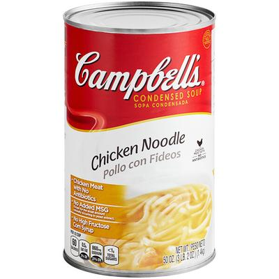Campbell Hausfeld Chicken Noodle Soup Condensed 50 oz. Can