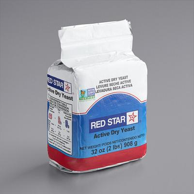 Lesaffre Red Star 2 lb. Vacuum Packed Bakers Active Dry Y...