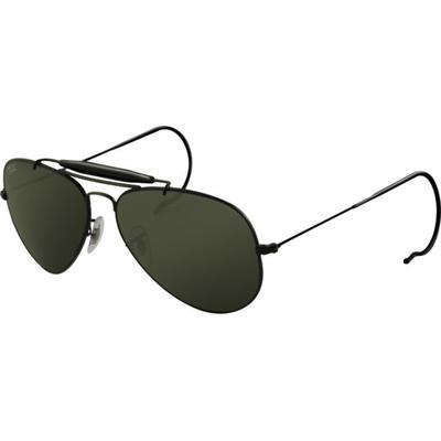 Ray-Ban Sunglasses RB 3030 Black Frame / Crystal Green Le...
