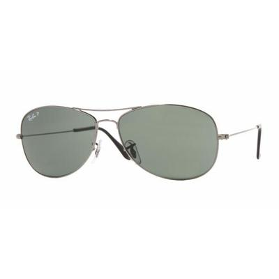 27a8f0050e Ray-Ban Sunglasses RB 3379 Styles - Gunmetal Frame   Crystal Green ...