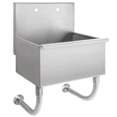 "Advance Tabco WSS-16-25 Wall Mounted Utility Sink - 22"" x..."