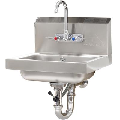 Advance Tabco 7-PS-50 Hand Sink with Splash Mount Faucet ...