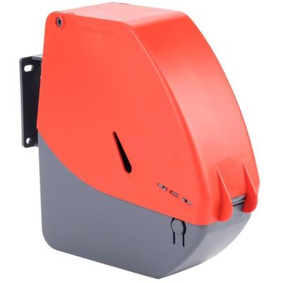 Sato Turn-O-Matic D900 Red/Gray Take a Number Ticket Disp...