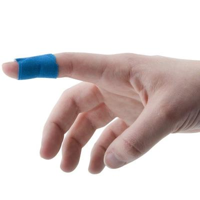 "Medique 68033 Medi-First 1"" x 3"" Blue Woven Adhesive Stri..."