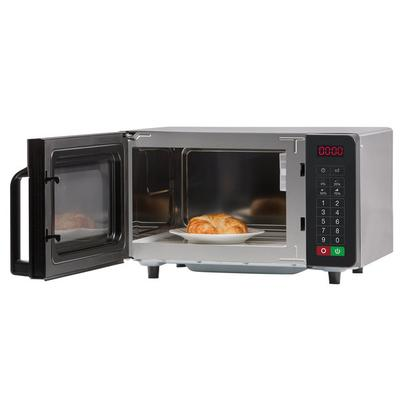 Amana RMS10TS Stainless Steel Commercial Microwave with P...