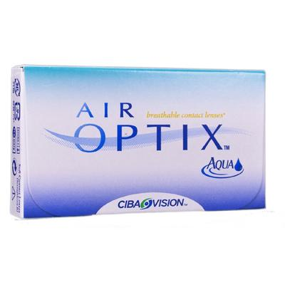 Air optix aqua Brand Breathable Contact Lenses by CIBA VI...