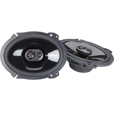 "Rockford Fosgate Punch P1683 6""x 8"" 3-way Speakers"