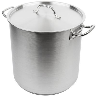 Vollrath 3509 Optio 38 Qt. Stainless Steel Stock Pot with...