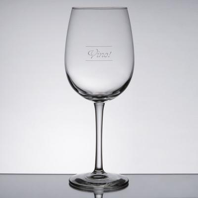 Libbey 7533-1358M Vina 16 oz. Wine Glass with Etched Pour...