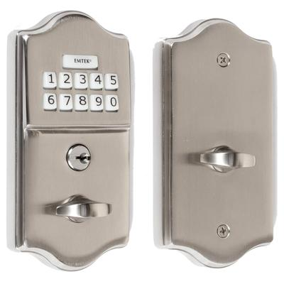 Elegant Emtek Keyless Entry Deadbolt