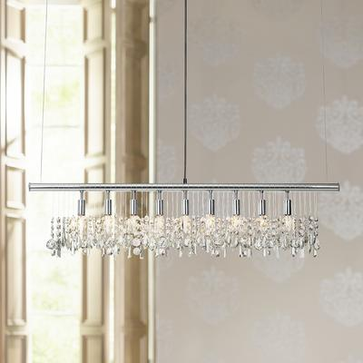 James Moder Broadway Collection Crystal Bar Chandelier