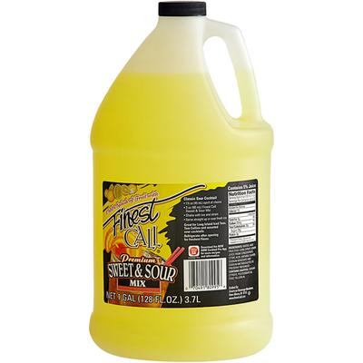 Finest Call Ready-to-Use Sweet and Sour Drink Mixer 1 Gal...
