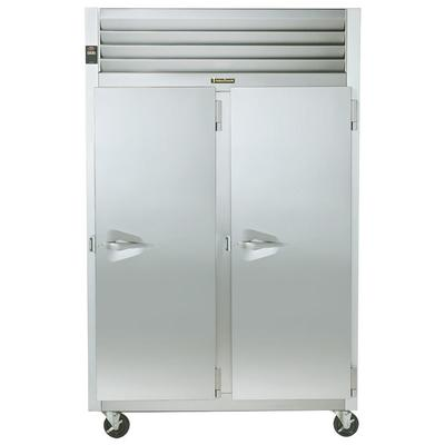 TRAULSEN G24312 Solid Door 2 Section Hot Food Holding Cab...