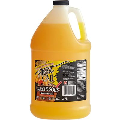 Finest Call Sweet and Sour Drink Mix Concentrate 1 Gallon...