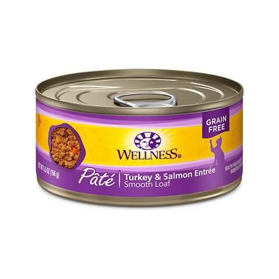 Wellness Complete Health Turkey & Salmon Formula Canned Cat Food, 5.5-oz, case of 24