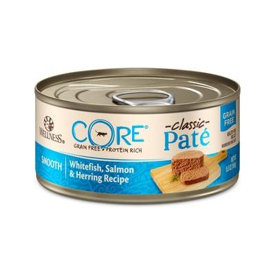 Wellness CORE Grain-Free Salmon, Whitefish & Herring Canned Kitten & Cat Food, 5.5-oz, 24ct