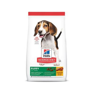 Hill's Science Diet Puppy Healthy Development with Chicken Meal & Barley Recipe Dry Dog Food, 15.5lb