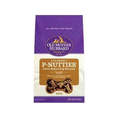 Old Mother Hubbard Classic P-Nuttier Biscuits Baked Dog T...