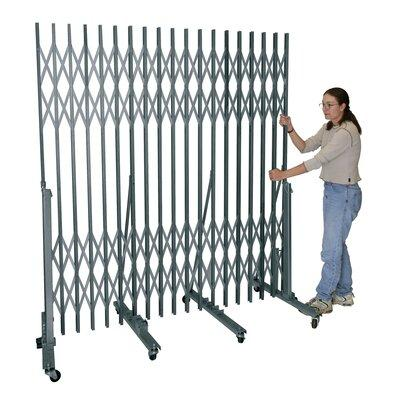 Hallowell Portable Folding Security Gate with 13' 18' Span