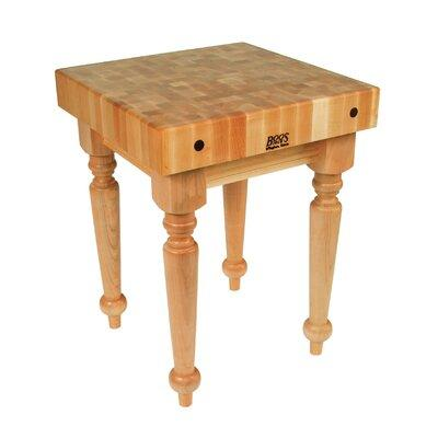 John Boos BoosBlock Butcher Block Prep Table SARBX-M Size...