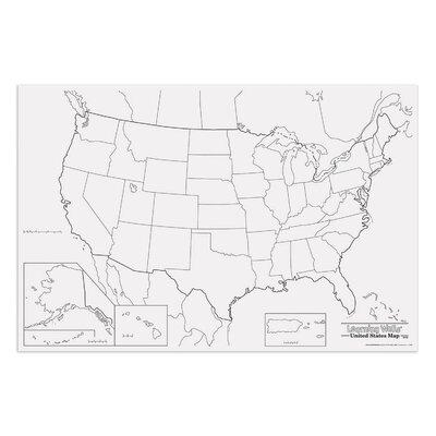 Pacon Creative Products Giant Us Map PAC78760