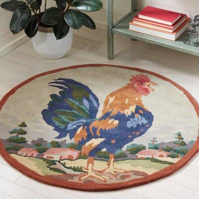 Safavieh Rooster on The Hill Area Rug NOV253A Rug Size: R...