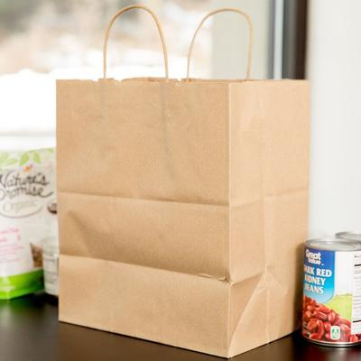 Duro Paper Bag Duro Bistro Natural Kraft Paper Shopping B...