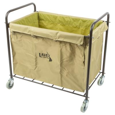 Lavex Lodging Commercial Laundry Cart/Trash Cart with Han...