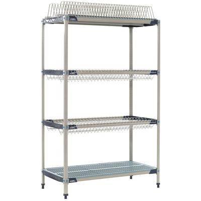 "Metro PR48X3 MetroMax i Stationary Drying Rack - 24"" x 48..."