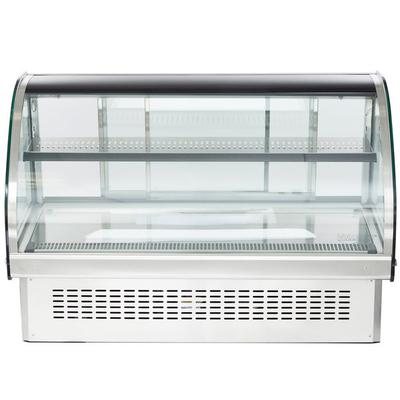 "Vollrath 40843 48"" Curved Glass Drop In Refrigerated Coun..."