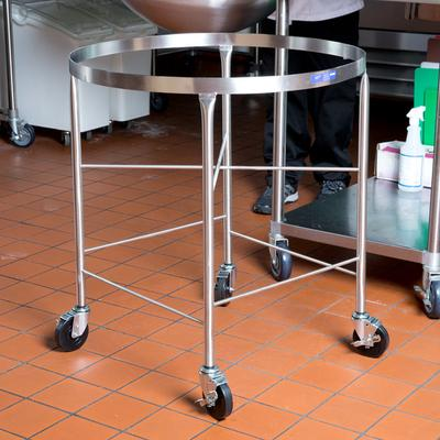 Vollrath 79018 Stainless Steel Mobile Mixing Bowl Stand f...