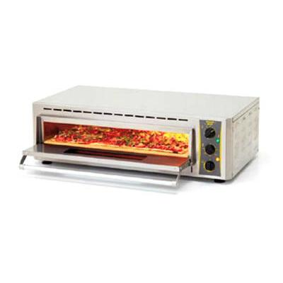 Equipex PZ-4302D Countertop Pizza Oven - Single Deck, 240...