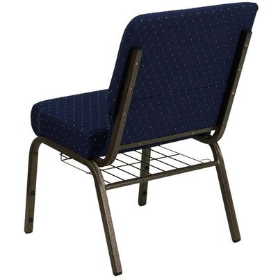 Flash Furniture FD-CH0221-4-GV-S0810-BAS-GG Navy Blue Dot...