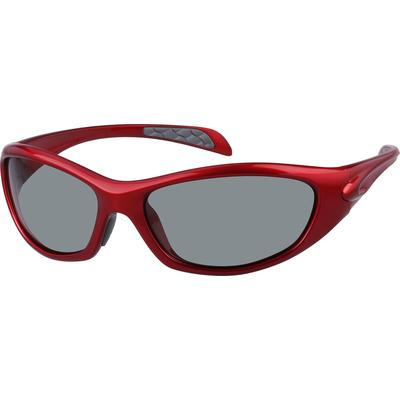 Zenni Womens Sunglasses Red Frame Other Plastic A10160218