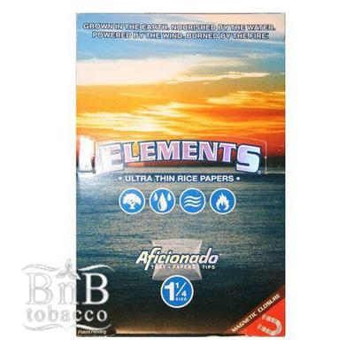 Element Ultra Thin Rice Artesano 1 1/4 Papers, Tray and T...