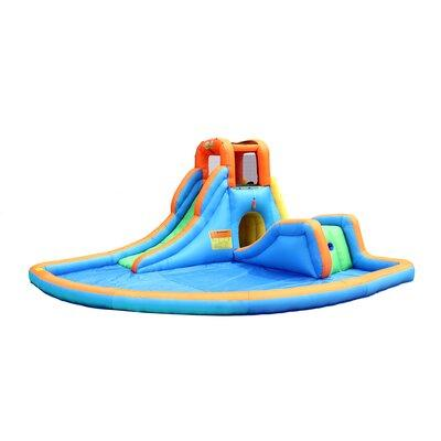Bounceland Cascade Inflatable Water Slides with Large Poo...