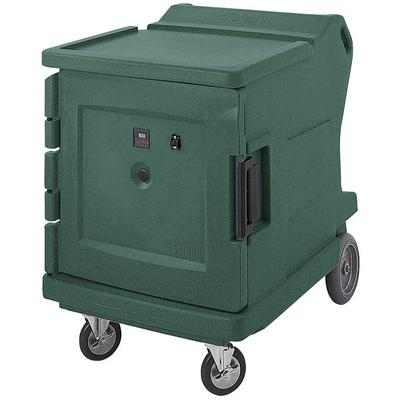 Cambro CMBHC1826LF192 Granite Green Camtherm Electric Food Holding Cabinet Low Profile Hot / Cold