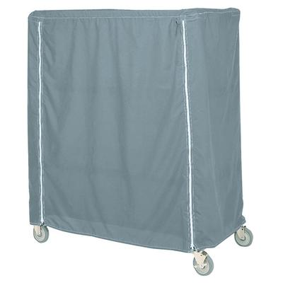 Metro 18X36X62UCMB Mariner Blue Uncoated Nylon Shelf Cart...
