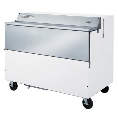 Beverage-Air SMF58-W-02 White Exterior with Stainless Ste...
