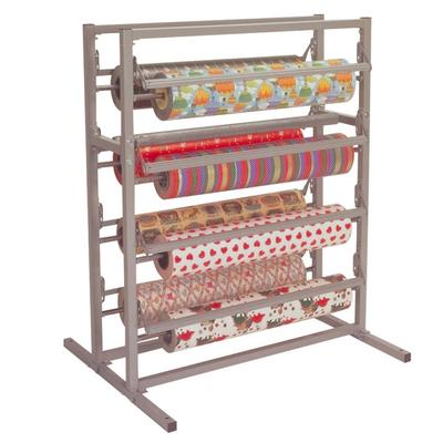 "Bulman T375-48 48"" Twin Tower 8 Roll Paper Rack"