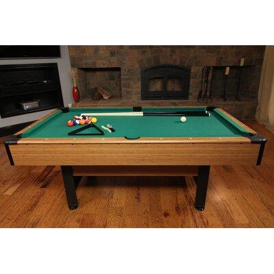 Mizerack Dynasty Space Saver 6.5' Pool Table & Accessorie...