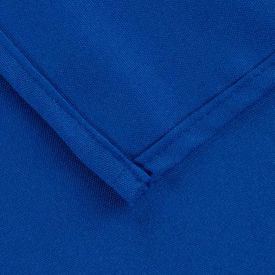 "Intedge Industries 64"" x 120"" Royal Blue Hemmed Polyspun ..."