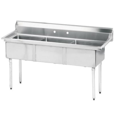 Advance Tabco FE-3-1515 Stainless Steel 3 Compartment Com...