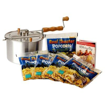 Wabash Valley Farms Whirley Pop 7 Piece Stove Top Popcorn...