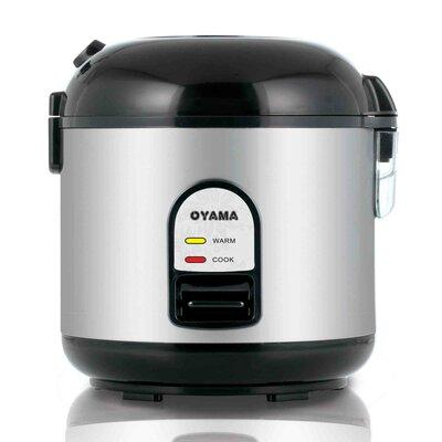 OYAMA Rice Cooker, Warmer and Steamer OYA1000 Color: Black