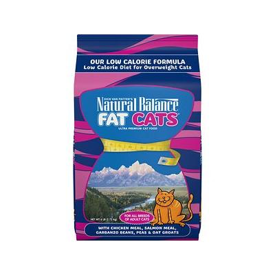 Natural Balance Fat Cats with Chicken Meal, Salmon Meal, ...